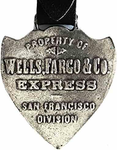 Wells Fargo & Co Express Pocket Watch Fob