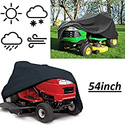 VVHOOY Waterproof Lawn Tractor Mower Cover,54inch