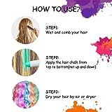 Hair Chalk,Hair Chalk Pens,Temporary Hair Chalk