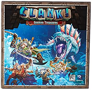 Clank! Sunken Treasure Board Game