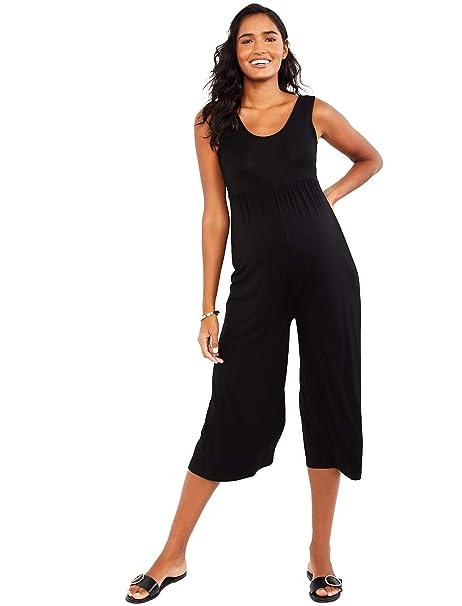 182cd6357267 Motherhood Cropped Maternity Jumpsuit at Amazon Women's Clothing store: