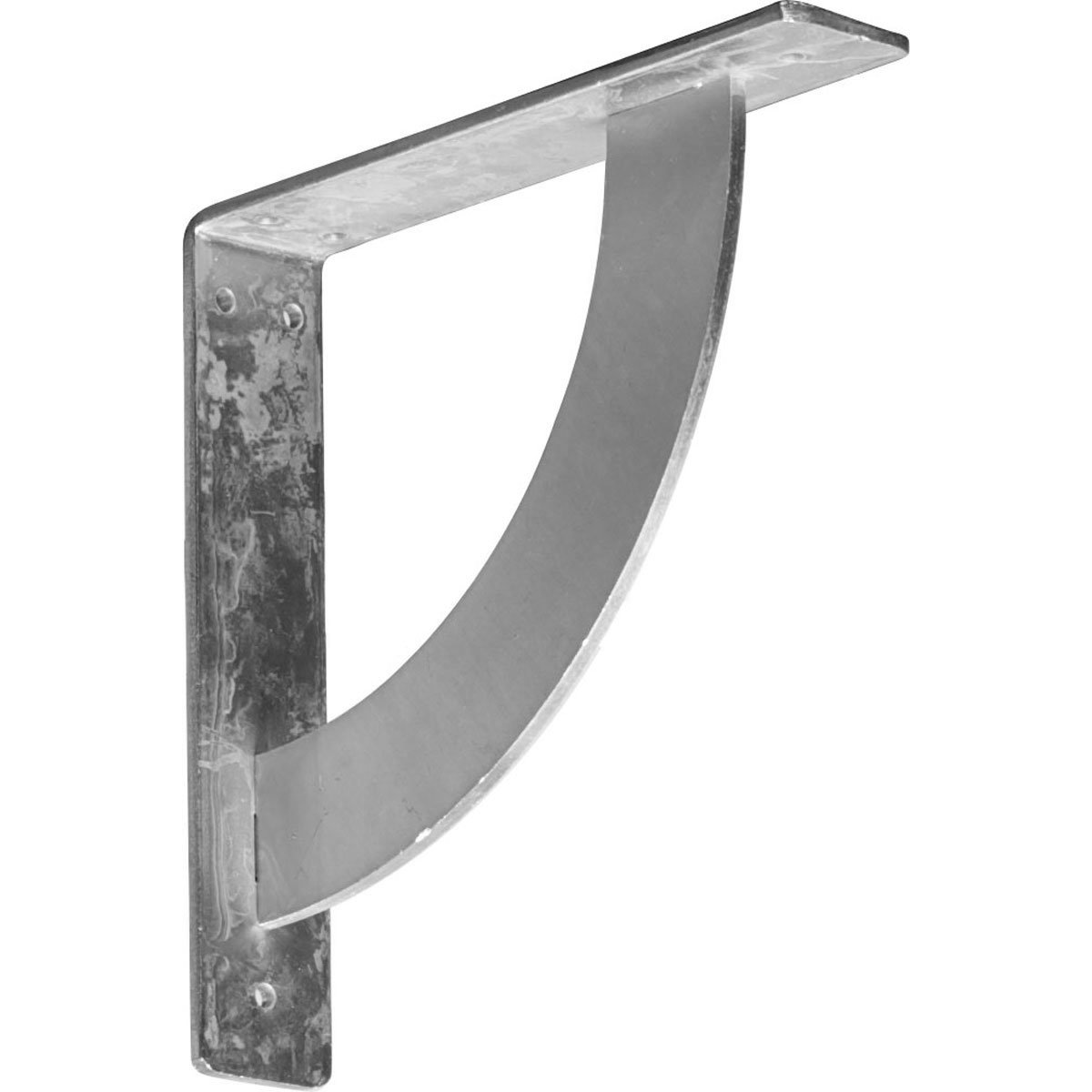 Steel Ekena Millwork BKTM02X10X10BUCRS-CASE-6 2 W D x 10 H Bulwark Bracket 6-Pack Piece