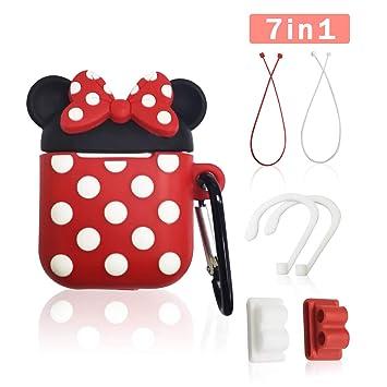 Amazon.com: GONJOY Airpods - Funda para Airpods y Mickey ...