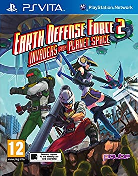 Earth Defense Force 2: Invaders from Planet Space [PS Vita]