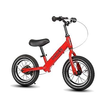 ZNDDB Bicicleta Sin Pedales - Bicicleta para Niños De 12 Pulgadas De Altura Ajustable, Ultraligera