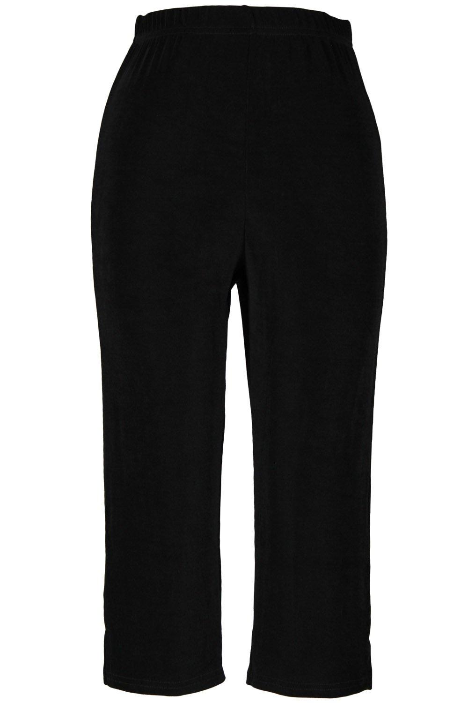 Jostar Acetate Capri Pants in Black Color in X-Large Size