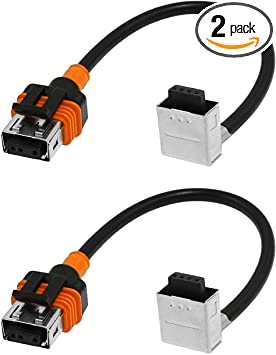 1 Pair XtremeVision HID D1 D1S D1R D1C Ballast Adapter Harness Cable Connector