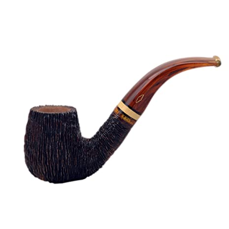 """Amazon.com: """"Ninja (rocciata 6002) Bent Pipa de tabaco ..."""