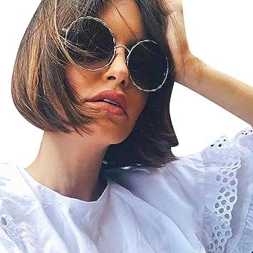 Amazon.com : Colouredays Spectacles Round Sunglasses Coach ...