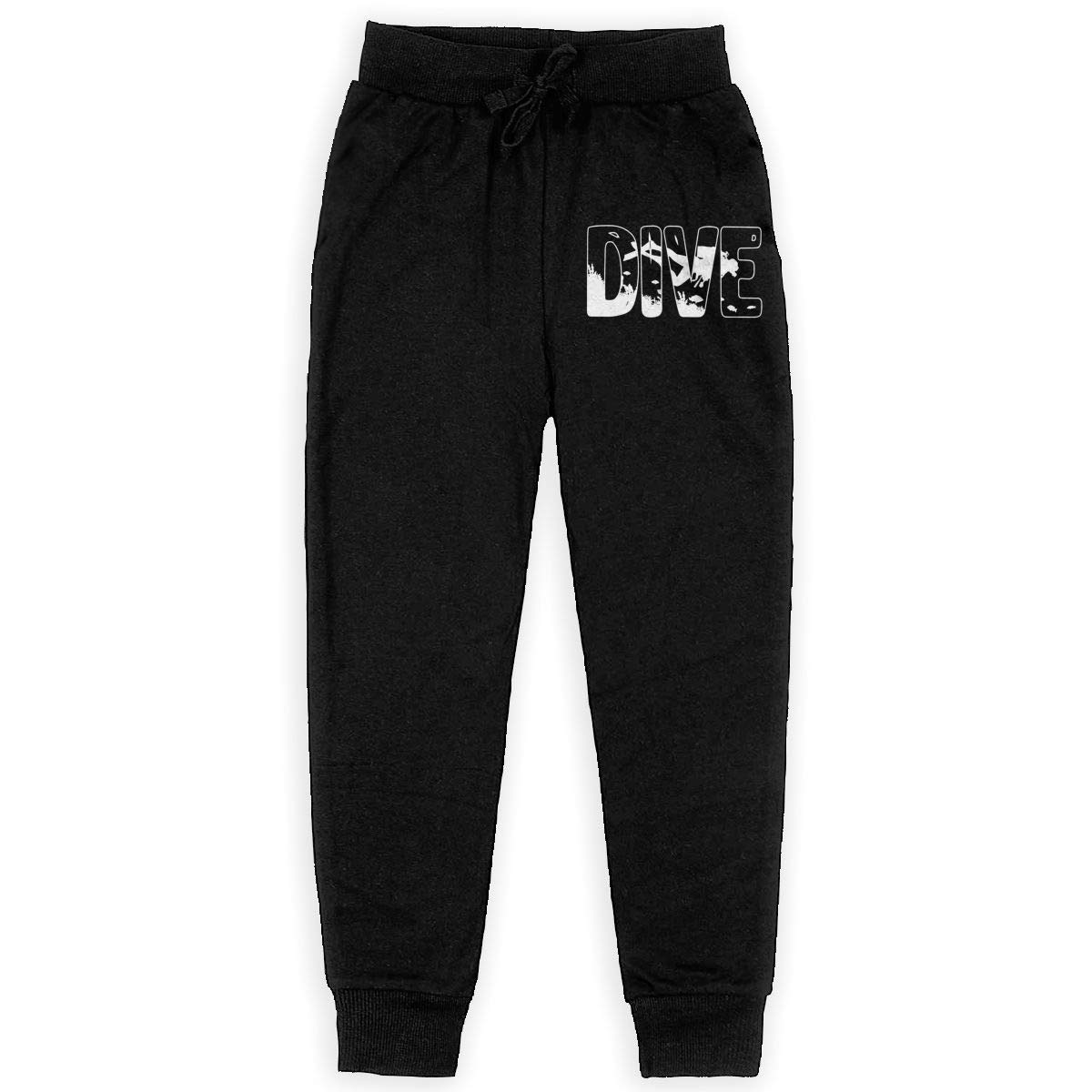 Youth Jogger Pants for Teen Boy WYZVK22 Retro Styled Skydiving Soft//Cozy Sweatpants