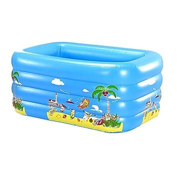 Kinder Baby-Wanne Badewanne Aufblasbar Pool Planschbecken Schwimmbecken DE G