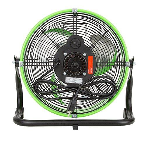 OEMTOOLS 24892 12'' Tilting Drum Workspace Fan-Green by OEMTOOLS (Image #2)