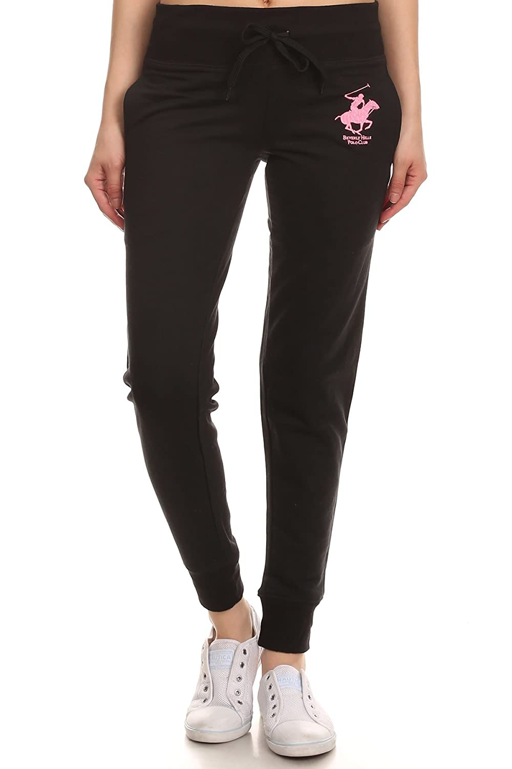 BH920 Beverly Hills Polo Club Womens Workout Sweatpants