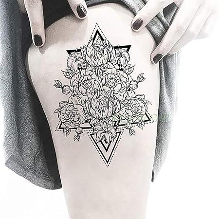 tzxdbh 2 Piezas Impermeables Tatuajes temporales del Tatuaje ...