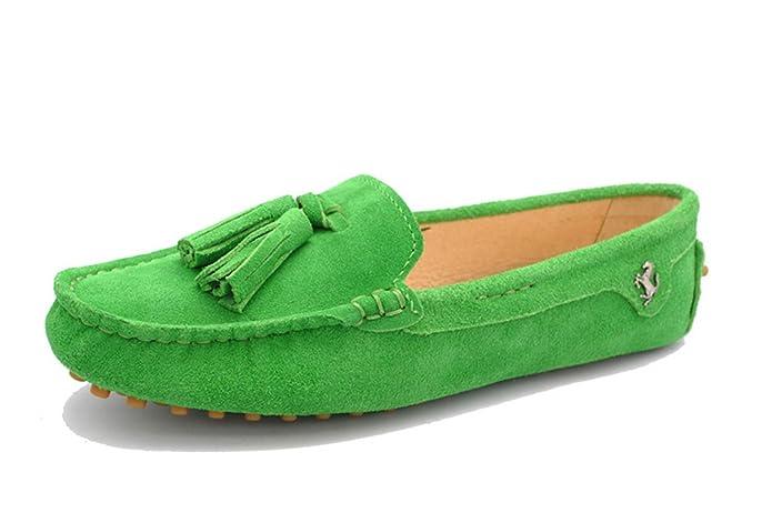 Minitoo , Damen Durchgängies Plateau Sandalen mit Keilabsatz , Grün - grün - Größe: 40