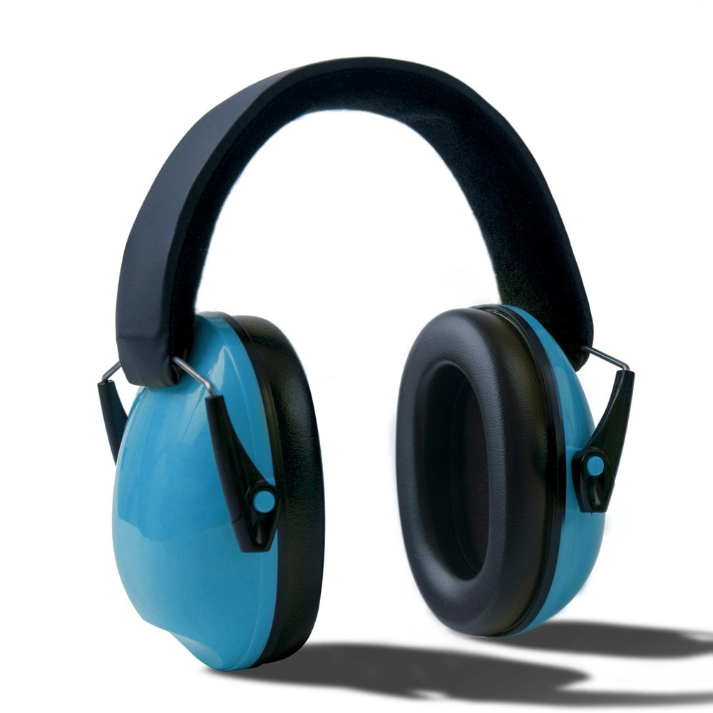 Popshot(TM) Outdoor Sport Tactical Shooting Earmuffs Airsoft Shooting Electronic Hearing Protector - Blue