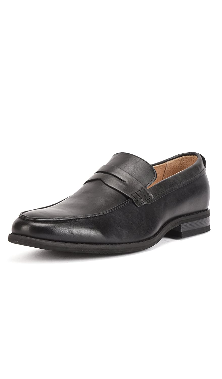 Amazon.com | Reservoir Shoes Moccasin with Square Toe Perm Men Black | Shoes
