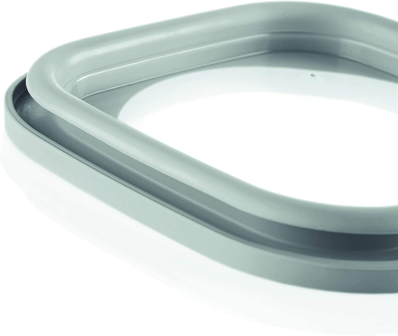 Recipiente herm/ético Rectangular para frigor/ífico//congelador//Horno de microondas Guzzini