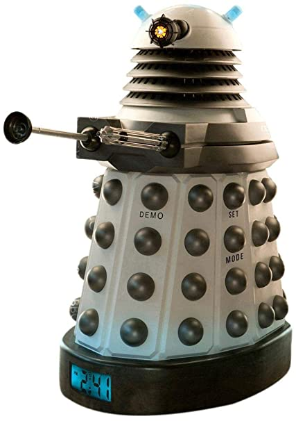 Dr Who Dalek 3D Projection Alarm Clock