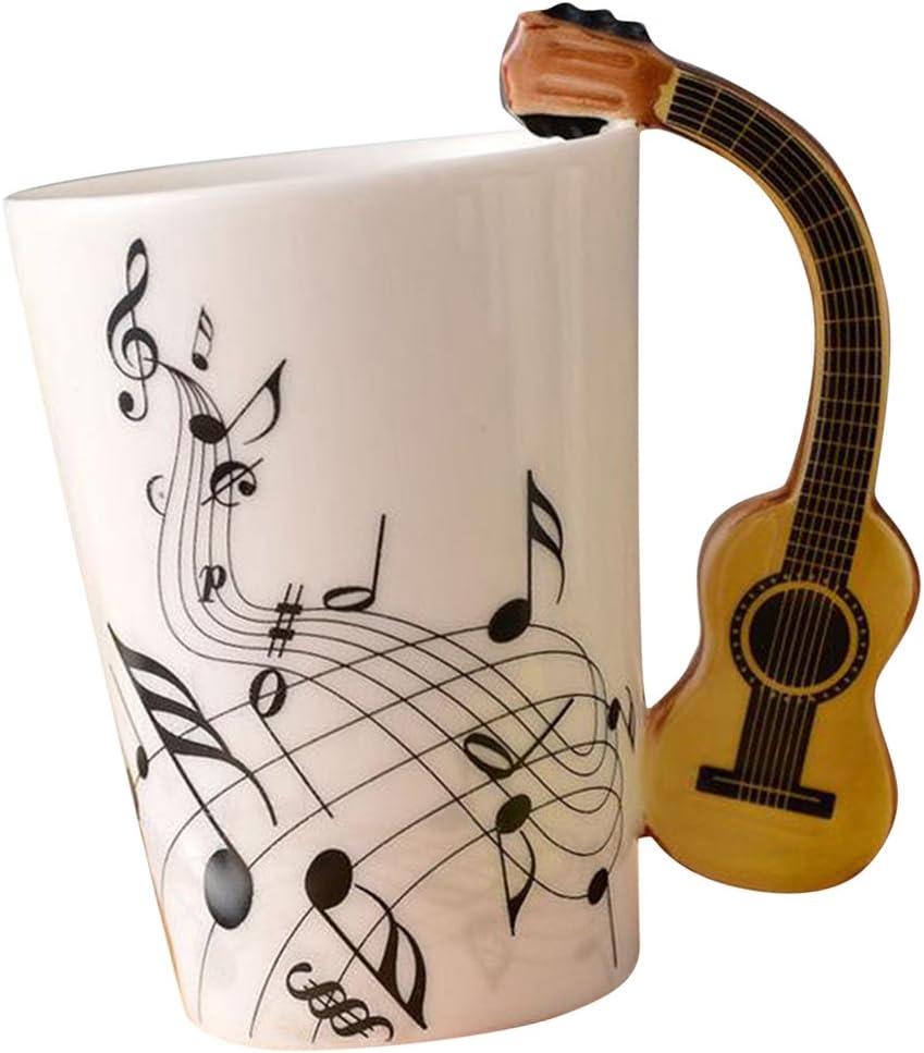 Baoblaze Taza de Música Complimentos Gran Regalo para Amigo Papá ...