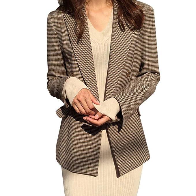 FRAUIT Giacca Donna Elegante Ufficio Giacche da Ragazza