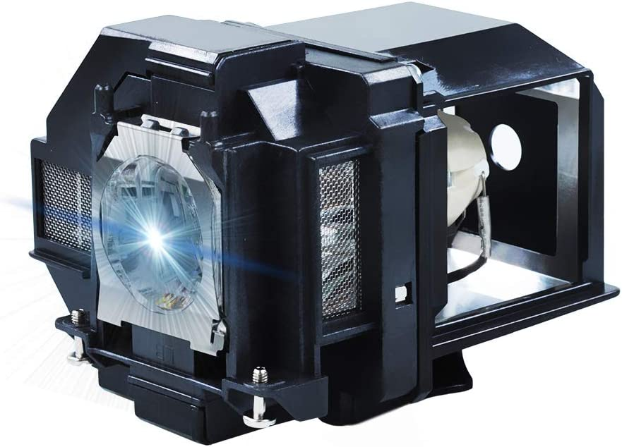 AWO Replacement Lamp Bulb for ELPLP96 / V13H010L96 with Housing Fit for EPSON PowerLite X39 1266 1286,Home Cinema 1060 2100 2150 660 760,EB-W42 EB-X41 EH-TW5600 EH-TW5650 EX5260 VS250 VS350 VS355