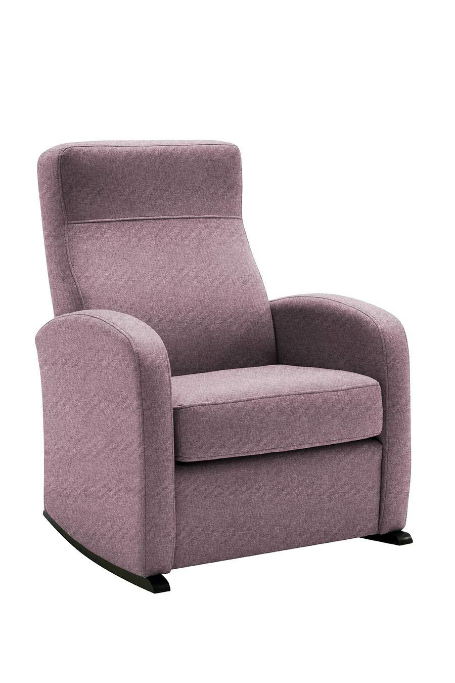 HOGAR TAPIZADO Butaca sillón Balancín Bob (Ideal para Lactancia) Tapizado en Microfibra Water Repellent Medidas: 74 x 72 x 100 (Fuxia)