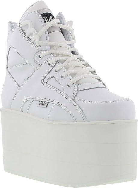 Buffalo 1300 10 Damen Plateau Stiefel Weiß Weiß Soft Blanco Größe 38 Eu Amazon De Schuhe Handtaschen