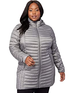 Amazon.com: Woman Within Womens Plus Size Packable Puffer ...