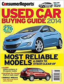consumer reports used car buying guide 2014 review of 276 models jon linkov jeff bartlett. Black Bedroom Furniture Sets. Home Design Ideas