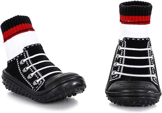 HOWELL Unisex Baby Socks Shoes Anti Slip Floor Socks with Soft Rubber Bottom