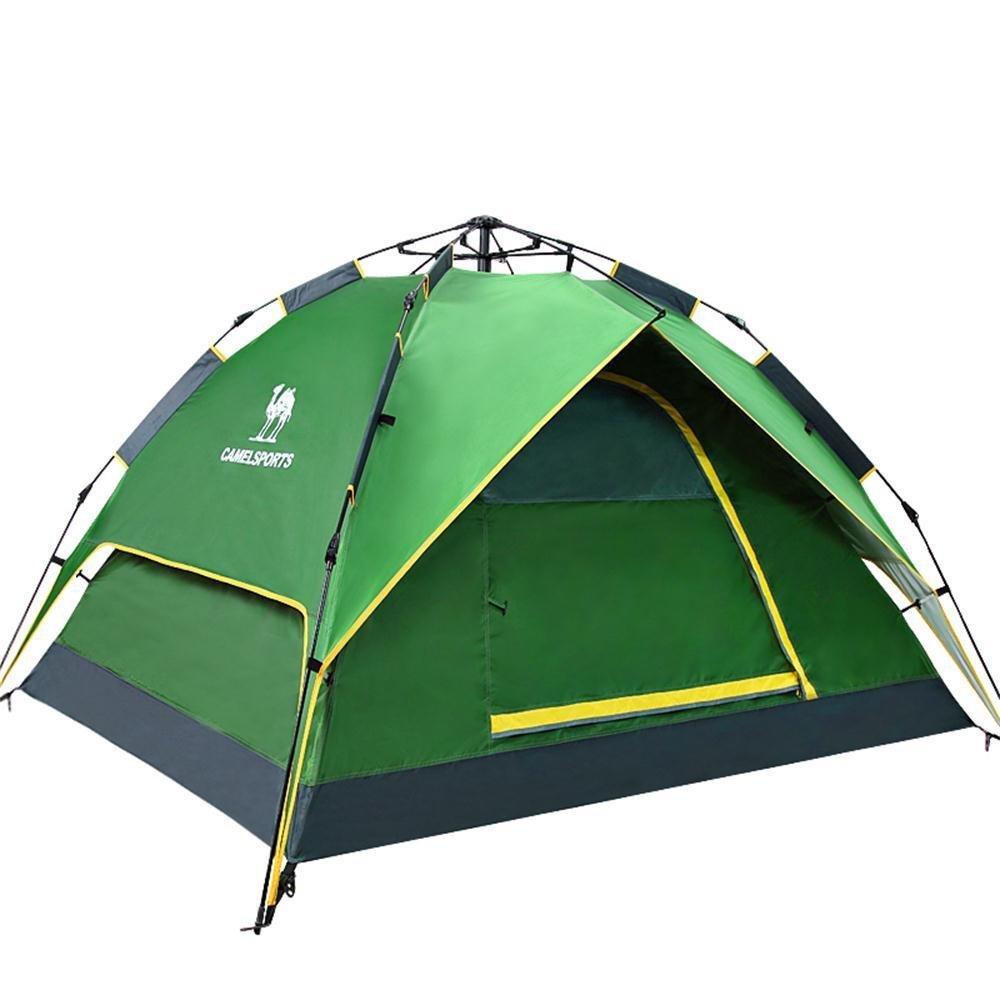 aluk vollautomatische geschwindigkeit ge ffnet outdoor zelt camping wasserdicht bilayer zelt. Black Bedroom Furniture Sets. Home Design Ideas