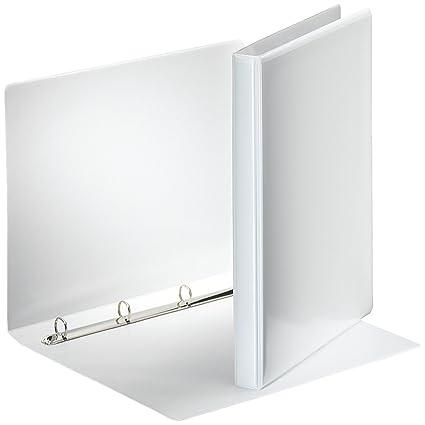 Esselte Group 49700 Essentials - Archivador para presentación (con anillas personalizable, A4, capacidad para 140 hojas, cartón recubierto de ...