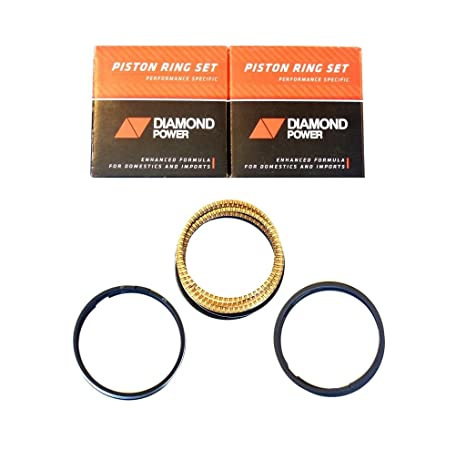 Diamond Power Piston Rings works with GM Pontiac 3 8L Supercharger V6 OHV
