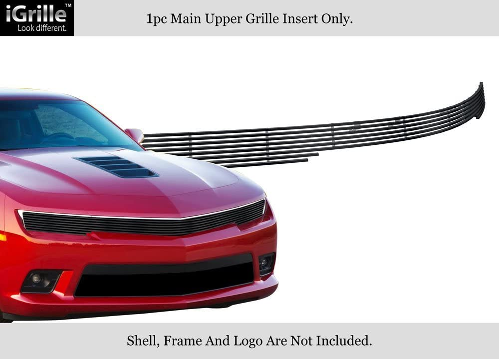 APS Compatible with 2014-2015 Chevy Camaro w RS Package Phantom Black Billet Grille C65996H