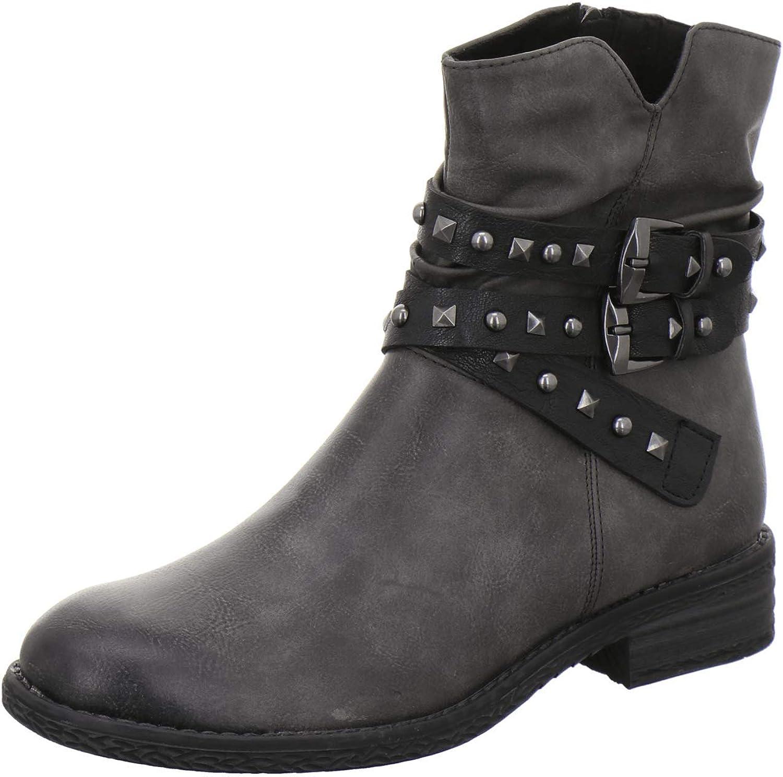 MARCO shop TOZZI Women's 2-2-25413-25 Stiefelette Boot latest Grey Ankle Dk