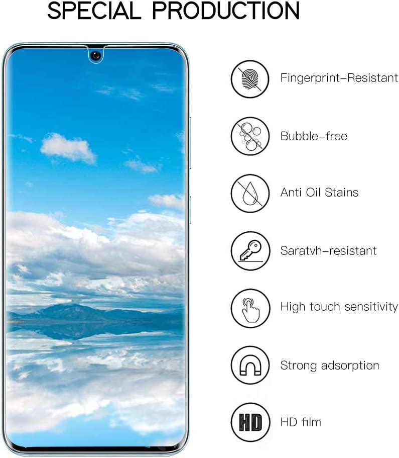 [3 + 2 Pack] IPY Galaxy S20 Ultra 5G Screen Protector,[Self Healing] [Easy Install & Bubble Free] [Full Coverage] Case Friendly Transparent HD TPU Clear Flexible Protetive Film For Samsung Galaxy S20 Ultra 5G