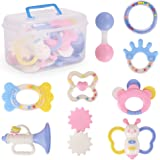 NextX Baby Teething Toys 9 Different PACK Infant Training Toy Case