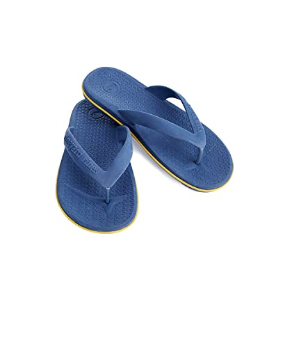 93fc3fdbed4063 Vineyard Vines Mens Tech Flip Flops Moonshine Blue (M 8-9)