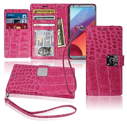 lg-g6-wallet-case-matt-8-pockets-7-id-credit-card-1-cash-slot-power-magnetic-clip-with-wrist-strap-f