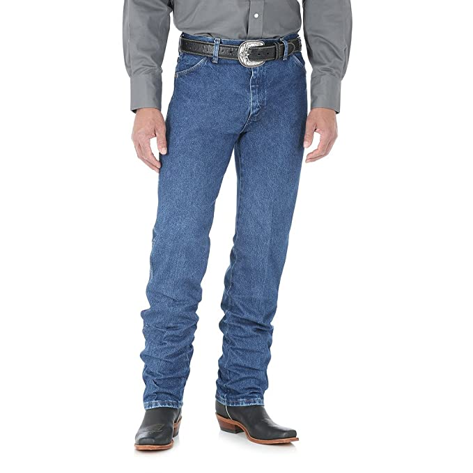 a5942694c7b Amazon.com: Wrangler Men's Cowboy Cut Original Fit Jean 30W x 32L ...