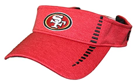 new product ef073 52b20 Image Unavailable. Image not available for. Color  New Era San Francisco  49ers NFL Shadow Speed Performance Adjustable Visor