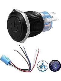 Amazon.com: Pushbutton Switches - Switches & Relays: Automotive