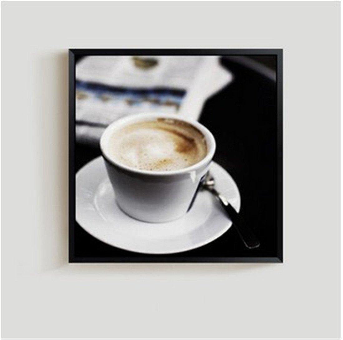 Venta en línea precio bajo descuento YIZHANGSala de Estar de Pintura Decorativa Decorativa Decorativa blanco y negro Tríptico Moderno Fondo de sofá Pintura de Parojo Café Restaurante nórdico Creativo Pinturas (40  40cm), c a  exclusivo