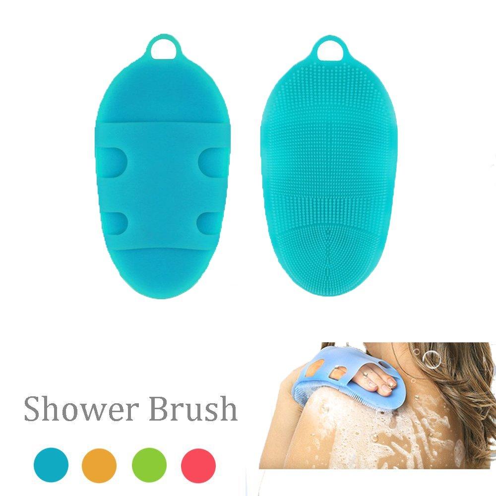 Jianzheng Silikon-Bad-Körper-Bürsten-weiche antibakterielle Haut-BADEKURORT Multi-Gebrauch Gesichts-Dusche Peeling-Reiniger für empfindliche und alle freundlichen Häute