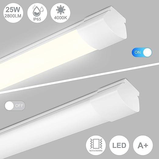 LED Feuchtraumleuchte 120cm 150cm Wannenleuchte Keller Werkstatt Röhre Tube IP66