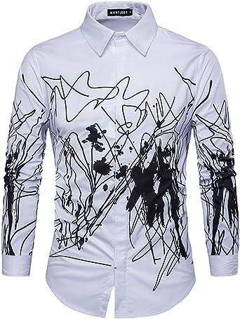 Camisa De Manga Larga para Hombre Otoño E Invierno Nueva ...