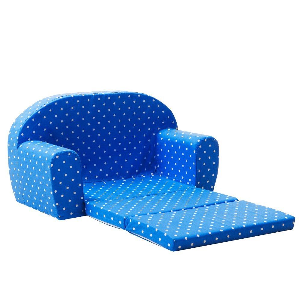Gepetto Kindersofa ausklappbar blau MOLEO Sp.z o.o. 05.07.04.04