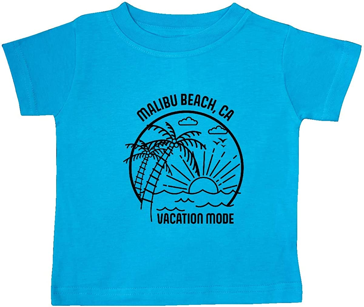 inktastic Summer Vacation Mode Malibu Beach California Baby T-Shirt