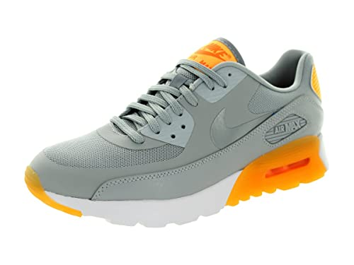 buy popular 3cef7 1229b Nike Air Max 90 Ultra Essential Wlf Gry cl Gry lsr Orng ttl Or Running Shoe  7.5 Us  Amazon.co.uk  Shoes   Bags